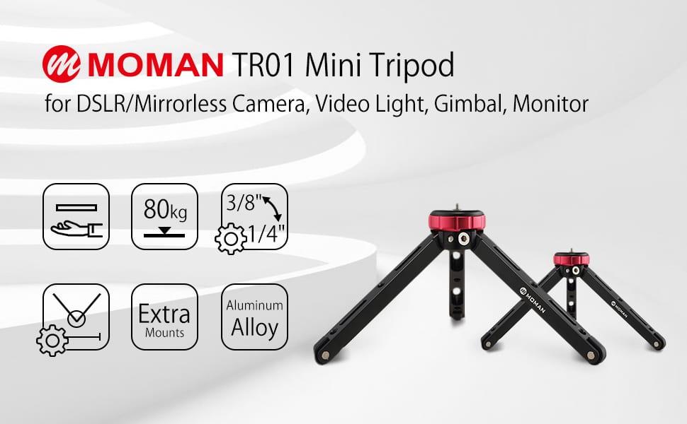 Product Review: Moman Tabletop Mini Tripod